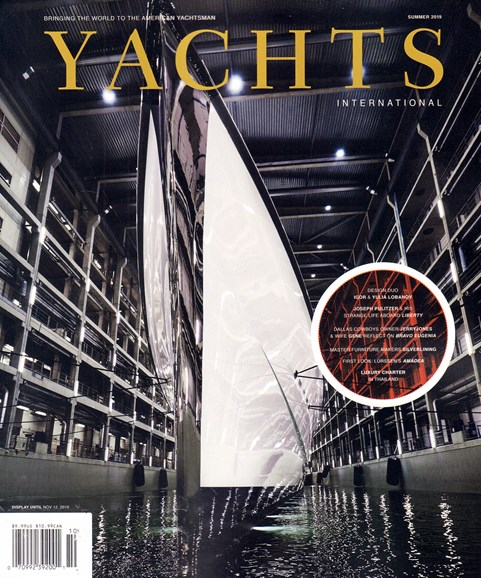 Yachts International Cover - 7/1/2019