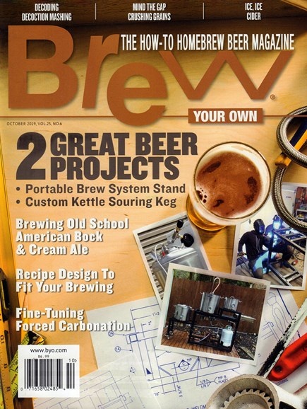Brew Your Own Cover - 10/1/2019