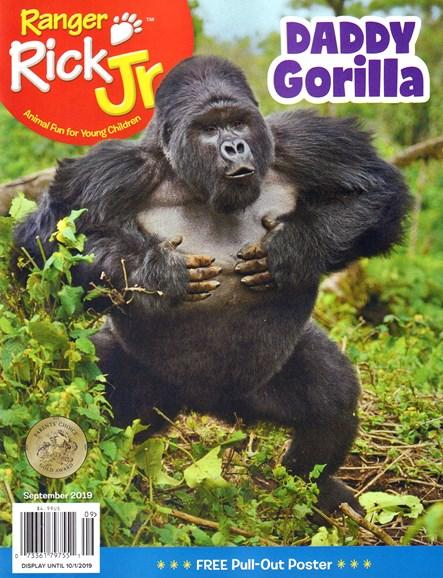 Ranger Rick Jr. Cover - 9/1/2019