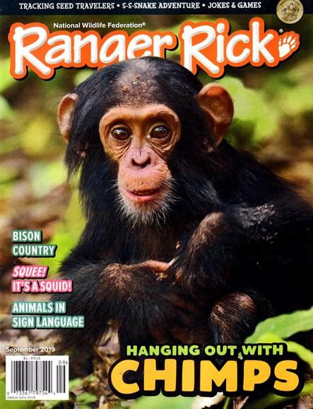 Ranger Rick Cover - 9/1/2019