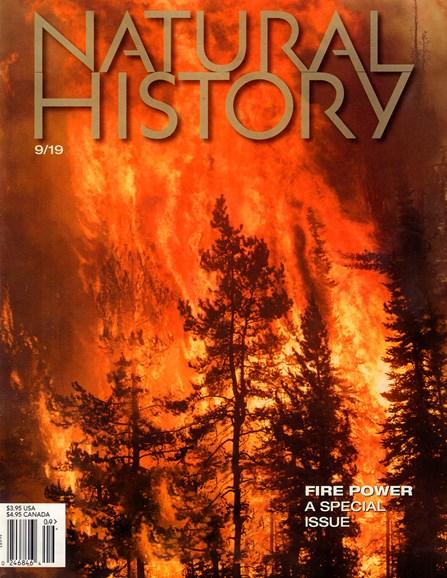 Natural History Cover - 9/1/2019