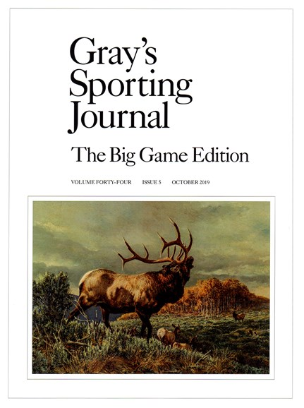 Gray's Sporting Journal Cover - 10/1/2019