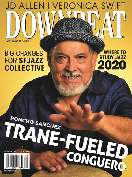 DownBeat Cover - 10/1/2019