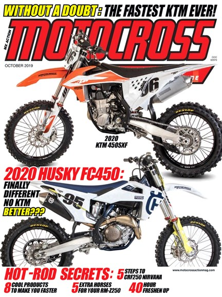 Motocross Action Cover - 10/1/2019