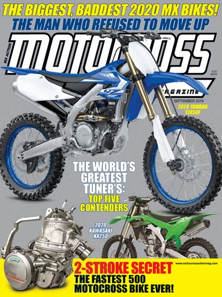 Motocross Action Cover - 9/1/2019