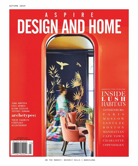 Aspire Design and Home Cover - 9/1/2019