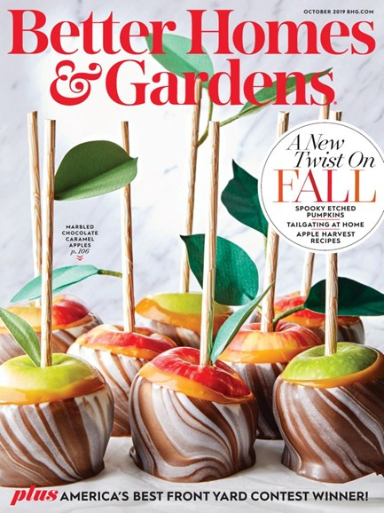 Better Homes & Gardens Cover - 10/1/2019