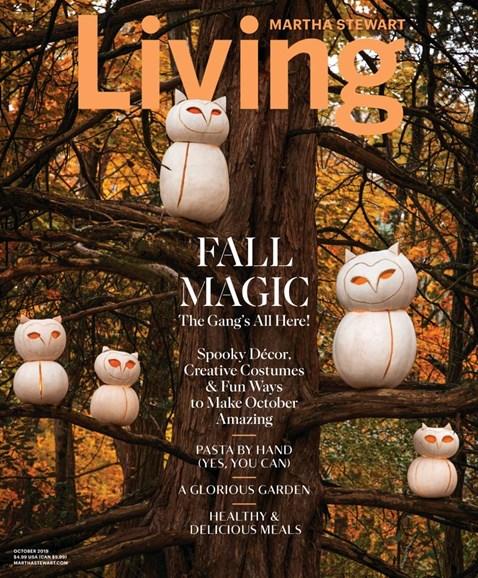 Martha Stewart Living Cover - 10/1/2019