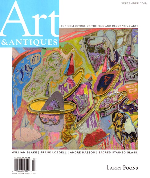 Art & Antiques Cover - 9/1/2019