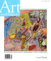 Art & Antiques   9/2019 Cover