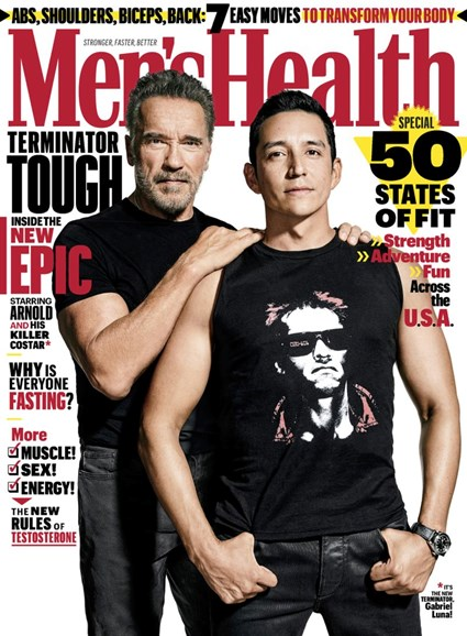 Men's Health Cover - 10/1/2019