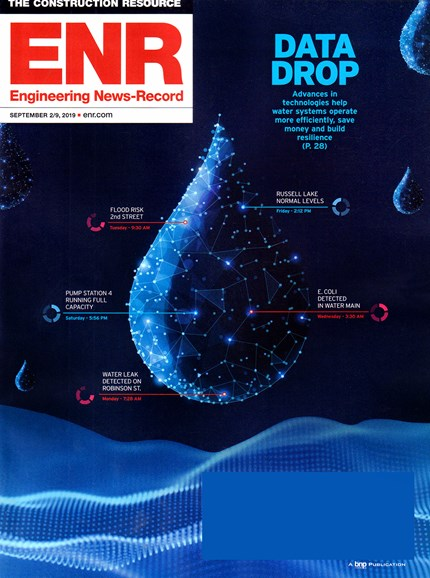 Engineering News Record Cover - 9/2/2019