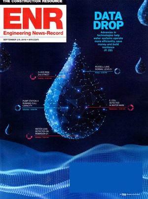Engineering News Record Magazine | 9/2/2019 Cover