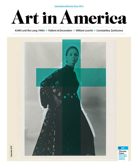 Art In America Cover - 9/1/2019