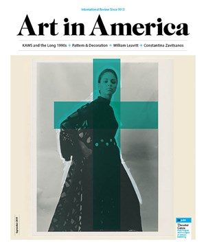 Art In America Magazine | 9/2019 Cover
