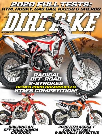 Dirt Bike Cover - 10/1/2019