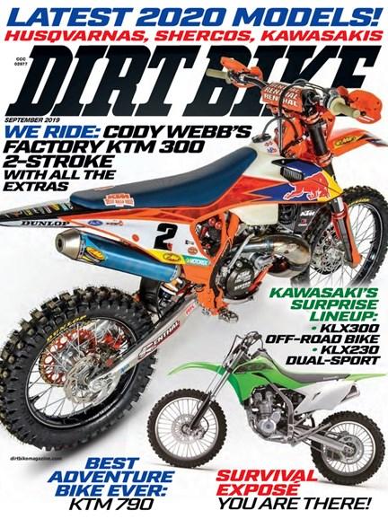 Dirt Bike Cover - 9/1/2019