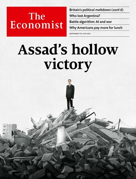 The Economist Cover - 9/7/2019