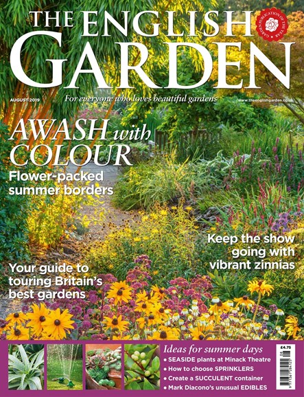 The English Garden Cover - 8/1/2019