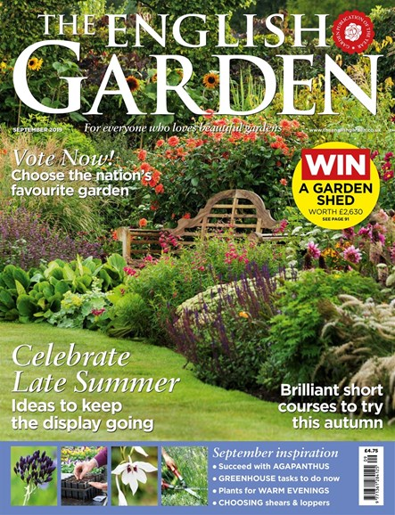The English Garden Cover - 9/1/2019