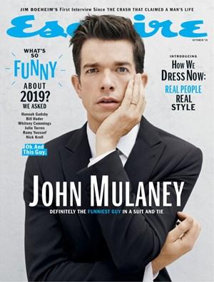 Esquire Magazine   10/2019 Cover