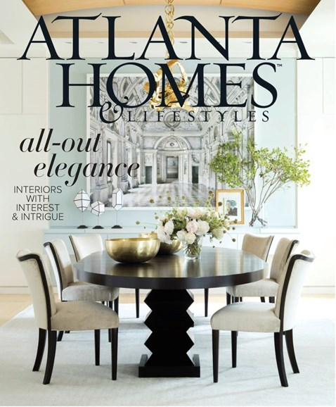 Atlanta Homes & Lifestyles Cover - 10/1/2019