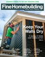 Fine Homebuilding Magazine | 9/2019 Cover