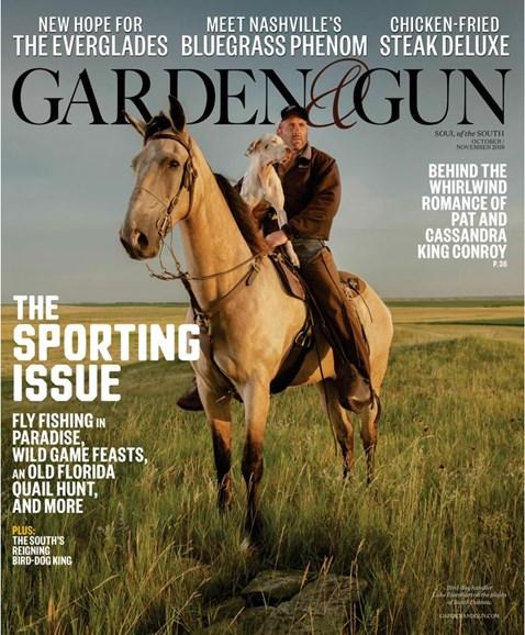 Garden & Gun Cover - 10/1/2019