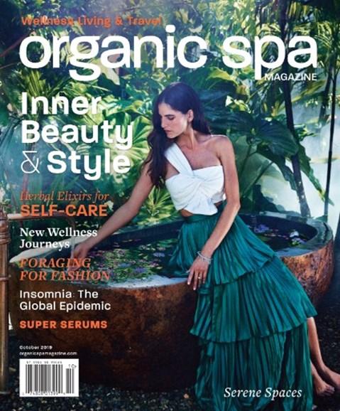Organic Spa Cover - 10/1/2019