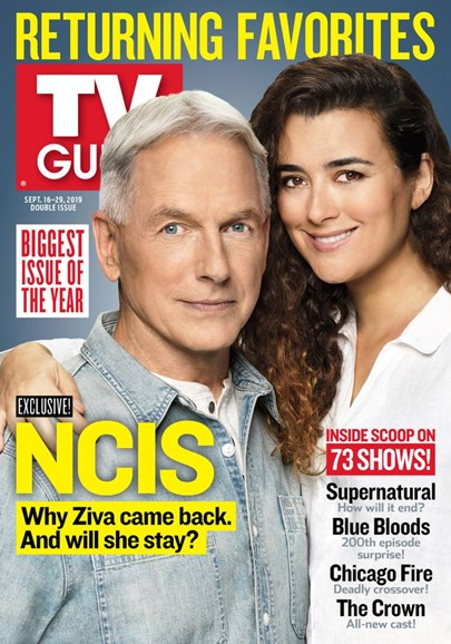 TV Guide Cover - 9/16/2019