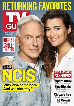 TV Guide Magazine | 9/16/2019 Cover
