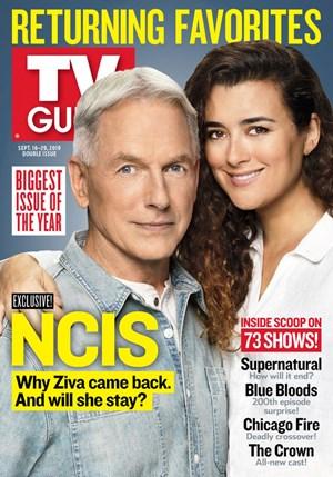 TV Guide Magazine | 9/16/2019 Cover