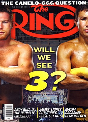 Ring Boxing Magazine | 11/2019 Cover