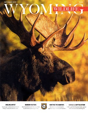 Wyoming Wildlife Magazine | 9/2019 Cover