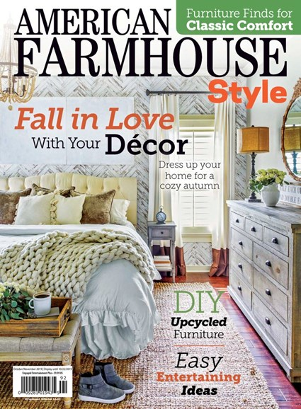 American Farmhouse Style Cover - 10/1/2019