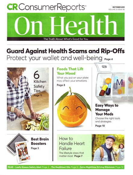 Consumer Reports On Health Cover - 10/1/2019