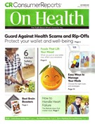 Consumer Reports On Health Magazine 10/1/2019