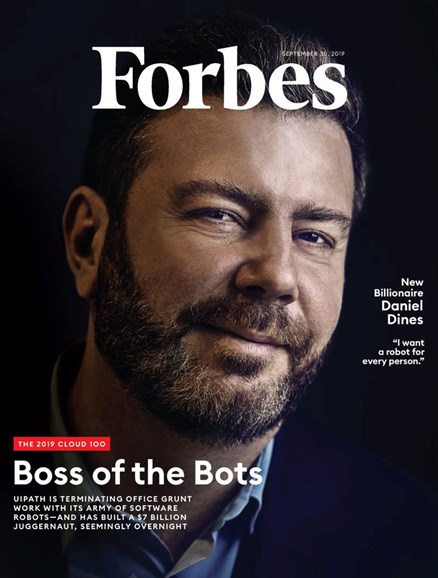 Forbes Cover - 9/30/2019