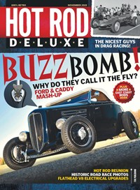 Hot Rod Deluxe Magazine | 11/2019 Cover
