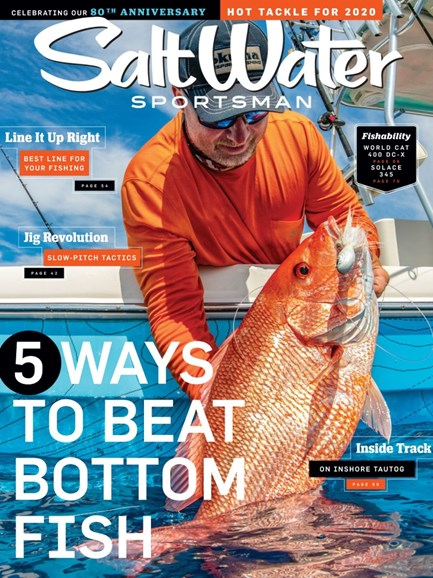 Salt Water Sportsman Cover - 10/1/2019