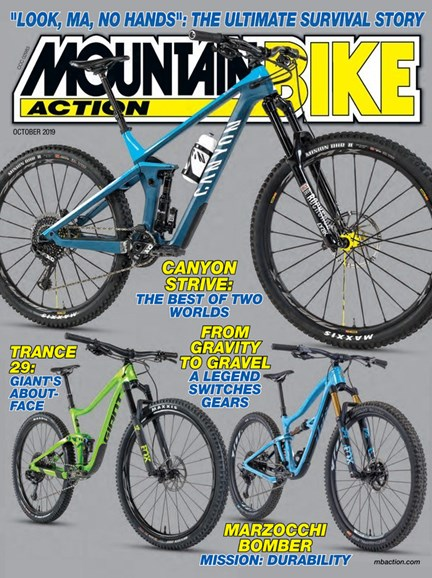 Mountain Bike Action Cover - 10/1/2019
