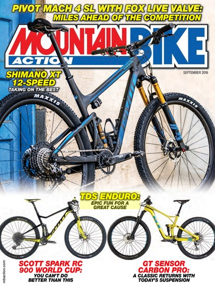 Mountain Bike Action Cover - 9/1/2019