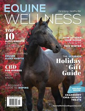 Equine Wellness Magazine | 10/2019 Cover
