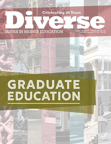 Diverse: Issues In Higher Education Cover - 8/22/2019