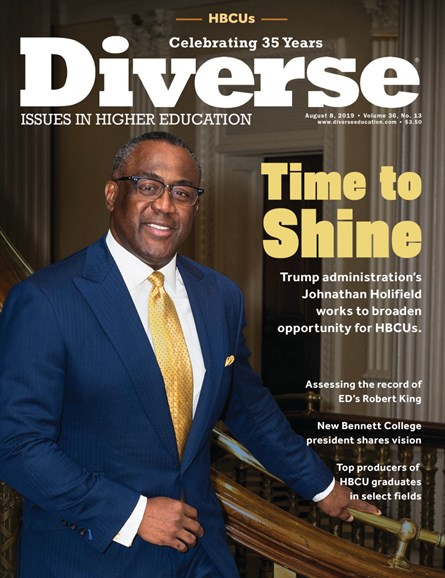 Diverse: Issues In Higher Education Cover - 8/8/2019