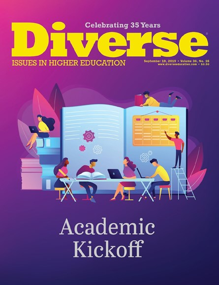 Diverse: Issues In Higher Education Cover - 9/19/2019