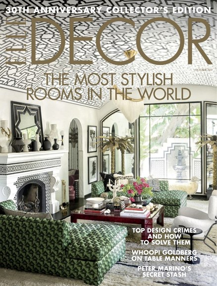 ELLE DECOR Cover - 10/1/2019