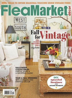 Flea Market Decor | 10/2019 Cover