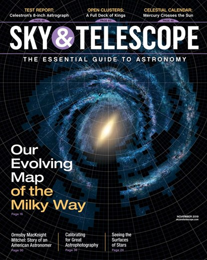Sky & Telescope Magazine | 11/2019 Cover