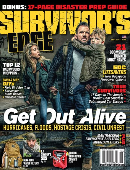 Survivor's Edge Cover - 9/1/2019